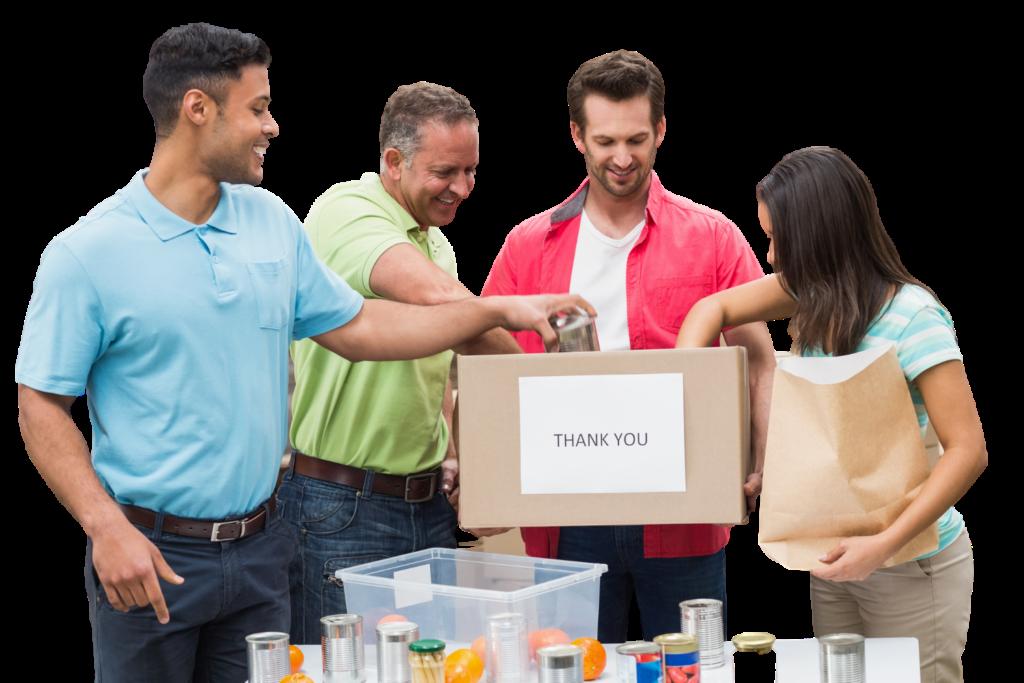 donate goods to caritas
